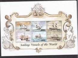 Tanzania, Scott #1940-1941, Mint Never Hinged, Ships, Issued 1999 - Tanzania (1964-...)