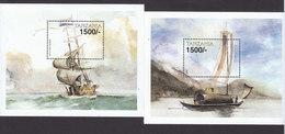 Tanzania, Scott #1942-1943, Mint Never Hinged, Ships, Issued 1999 - Tanzanie (1964-...)