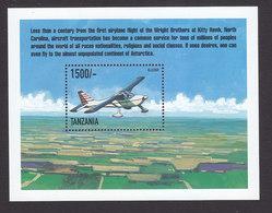 Tanzania, Scott #1955, Mint Never Hinged, Planes, Issued 1999 - Tanzania (1964-...)