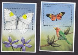 Tanzania, Scott #1967-1968, Mint Never Hinged, Butterflies, Issued 1999 - Tanzanie (1964-...)