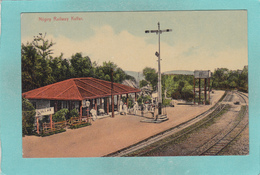 Small Postcard Of Nilgiry Railway,Kullar,Tamil Nadu, India,,Q90. - India
