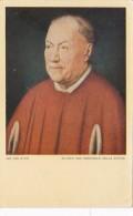 Jan Van Eyck Bildnis Des Kardinals Della Croce - Paintings