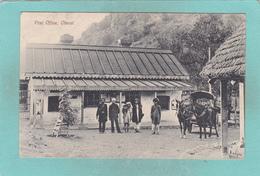 Small Postcard Of Old Post Office,Cherat, Khyber Pakhtunkhwa, Pakistan,Q90. - Pakistan