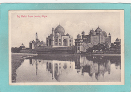 Small Postcard Of Taj Mahal,Agra,Uttar Pradesh,India, Q90. - Pakistan