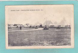 Small Postcard Of Burma Park,Coronation Park,Durbar, Delhi, India,1911, Q90. - Pakistan