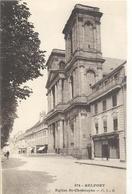974- BELFORT . EGLISE St-CHRISTOPHE . NON ECRITE - Belfort - City