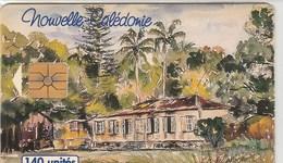 CARTE TELEPHONIQUE  140 UNITES. ..NOUVELLE CALEDONIE.. - New Caledonia
