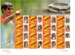 2002 China  Stamps  World Famous Football Coach Bora Milutinovic  Special Sheet(lower-left Corner Is Hologram) - Fußball-Weltmeisterschaft