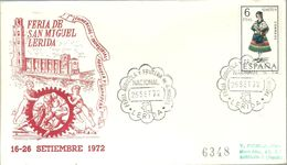 POSTMARKET ESPAÑA 1972 LERIDA - Agricultura