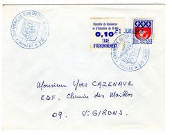 Chambre De Commerce Et D'industrie De St DIE - Marcophilie (Lettres)
