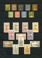 MARTINIQUE - Collection  1888 / 1947 - N** / N* / Obl. - Cote Environ 500 Eur. - Très Beaux - Martinique (1886-1947)