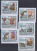 B62. MNH S Tome E Principe Nature Animals Prehistoric Animals Imperf - Prehistorics