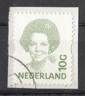 Nederland - 2.276 Zegels - Beatrix Inversie - Waarde 10 Gulden - O - Onafgeweekt/fragment - NVPH 1582 - Timbres