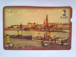 2 Lati Old Buildings - Latvia
