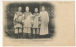 Yunnan 1 Ere Serie No 43 Edit Fleury Femmes D' Un Mandarin Chinois Dans Un Yamen Chinese Women Small Feet - China
