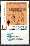 ISRAELE - 1973 - 25 Years Of Independence - MNH - Israele