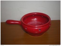 ALBISOLA  TEGAME BRACIERE TERRACOTTA  COOP. STOVIGLIAI -  VINTAGE - Dishware, Glassware, & Cutlery