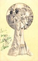 [DC11569] CPA - FAMIGLIA - RARA - PERFETTA - Viaggiata - Old Postcard - Illustratori & Fotografie