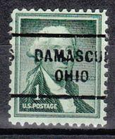 USA Precancel Vorausentwertung Preo, Locals Ohio, Damascus 712 - Vereinigte Staaten