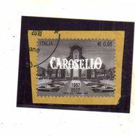 ITALY REPUBLIC ITALIA REPUBBLICA 2017 CAROSELLO EURO 0,95 USATO USED OBLITERE' - 6. 1946-.. Repubblica