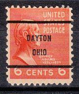 USA Precancel Vorausentwertung Preo, Bureau Ohio, Dayton 811-61 - Vereinigte Staaten