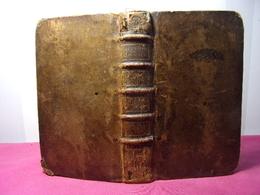 HISTOIRES CHOISIES  Ou Livre D'exemple Tirez De L'écriture - Antes De 18avo Siglo