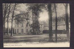 CPA 78 - MAGNANVILLE MAGNANVILLE MANTES - TB PLAN D'un Château Et Son Parc - Magnanville