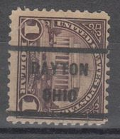 USA Precancel Vorausentwertung Preo, Locals Ohio, Dayton 571--232 - Vereinigte Staaten