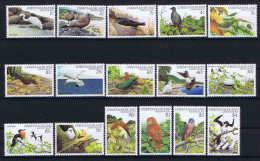 Christmas Island Definitives Birds 16v  SG 152/67 MI 154-69  MNH/** Birds - Vogels