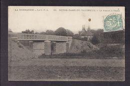 CPA 27 - NOTRE-DAME-DU-VAUDREUIL - Le Pont Et Le Chenil - TB PLAN Avec Petite Animation Dessus LA NORMANDIE - Altri Comuni