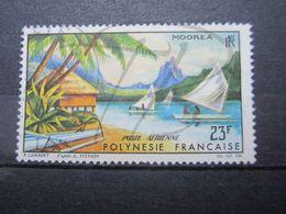 VEND BEAU TIMBRE DE POSTE AERIENNE DE POLYNESIE FRANCAISE N° 9 !!! - Gebruikt