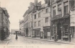 76 - CAUDEBEC EN CAUX - Rue De La Rive - Caudebec-en-Caux