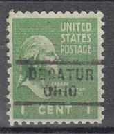 USA Precancel Vorausentwertung Preo, Locals Ohio, Decatur 729 - Vereinigte Staaten