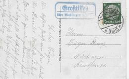AK 0848  Zwiefalten - OT Stempel Großtissen über Riedlingen Um 1941 - Reutlingen