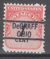 USA Precancel Vorausentwertung Preo, Locals Ohio, Degraff 819 - Vereinigte Staaten