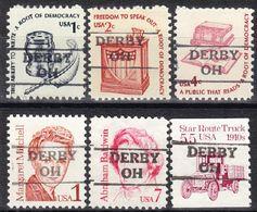 USA Precancel Vorausentwertung Preo, Locals Ohio, Derby 872, 6 Diff. - Vereinigte Staaten