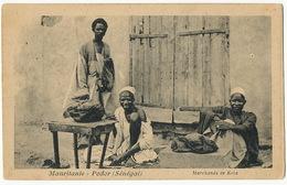 Mauritanie Podor Marchands De Kola - Mauritania