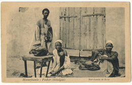Mauritanie Podor Marchands De Kola - Mauritanie