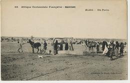 Mauritanie  68 AOF Aleg Un Puits Coll. Penel Saint Louis Ane Dromadaire - Mauritania