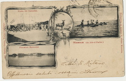 Massaua ( Da Abt El Kader ) Multi View  Ramadan  Edit S. Bozzi  600 Enrico Genta 1902  Defects Stamp Removed - Erythrée