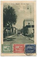Asmara Via Della Posta P. IUsed 3 Stamps  Edit . Cicero - Eritrea