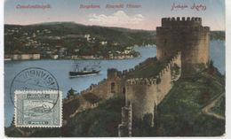 CONSTANTINOPLE  BOSPHORE  ROUMELI  HISSAR   BE   J605 - Turchia