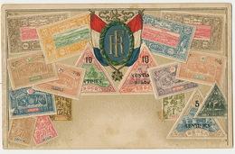 Carte Philatelique Ottmar Zieher RF  Djibouti Somali Obock  Gaufrée Embossed - Djibouti