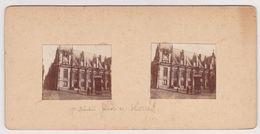 H6 Photo Stéreoscopique Recto-verso - Vers 1900 Palais Justice ROUEN - Photos Stéréoscopiques