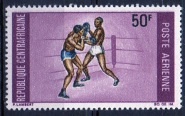 Repubblica Centroafricana Central African Republic 1969 -  Pugilato Boxing MNH ** - Repubblica Centroafricana