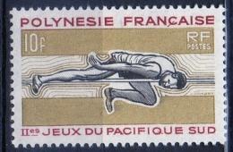 Polinesia Francese French Polynesia 1966 -  Salto In Alto High Jump MNH ** - Polinesia Francese