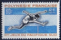 Polinesia Francese French Polynesia 1966 -  Corsa Ad Ostacoli Hurdling MNH ** - Polinesia Francese