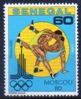 Senegal 1980 -  Lotta Wrestling MNH ** - Senegal (1960-...)
