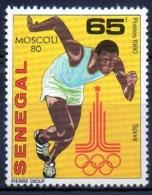 Senegal 1980 -  Corsa Running MNH ** - Senegal (1960-...)