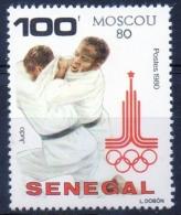 Senegal 1980 -  Judo MNH ** - Senegal (1960-...)